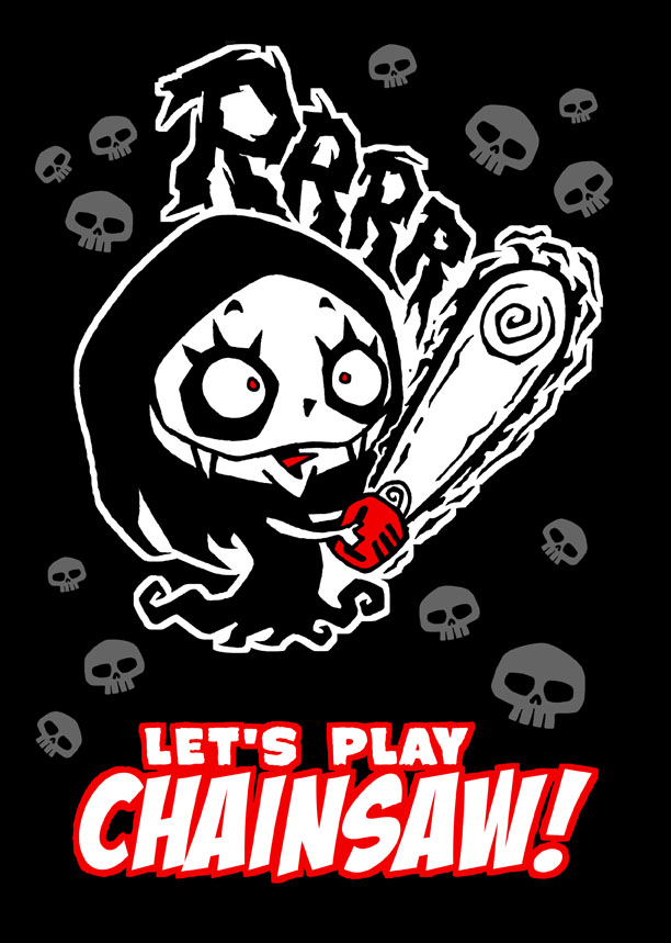 nosfera - Let's play chainsaw!